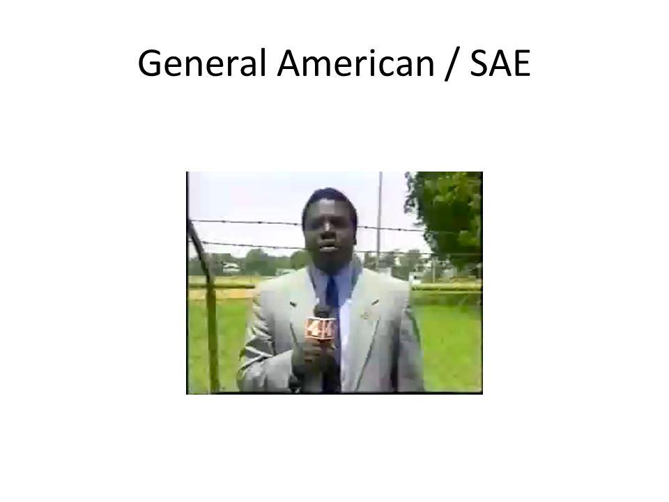 General American / SAE