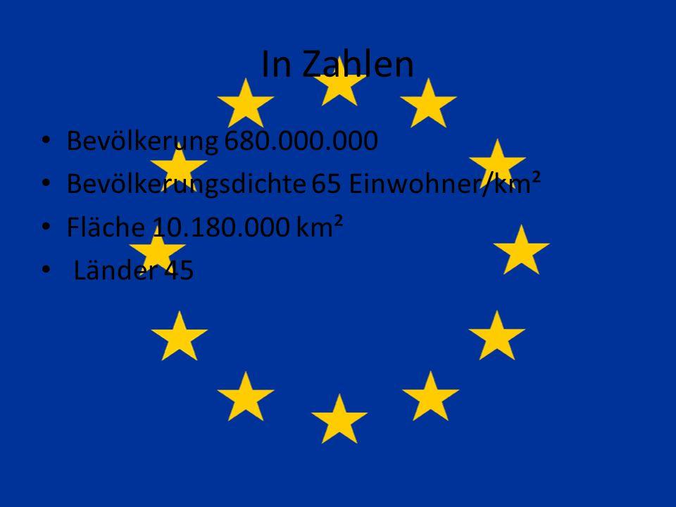 In Zahlen Bevölkerung 680.000.000 Bevölkerungsdichte 65 Einwohner/km²