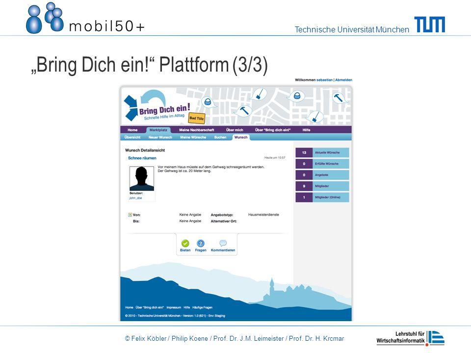 """""""Bring Dich ein! Plattform (3/3)"""
