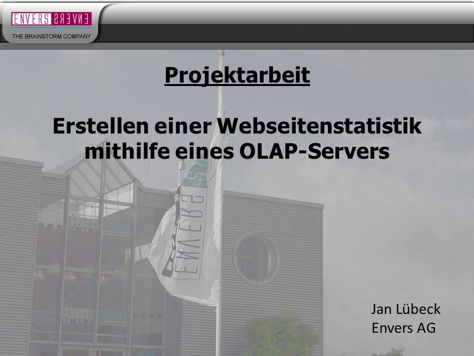 Erstellen einer Webseitenstatistik mithilfe eines OLAP-Servers