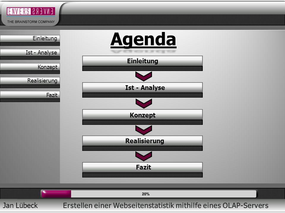 Agenda Einleitung Ist - Analyse Konzept Realisierung Fazit Einleitung