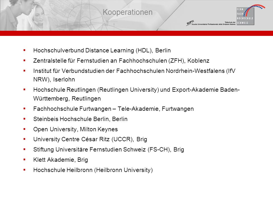 Kooperationen Hochschulverbund Distance Learning (HDL), Berlin