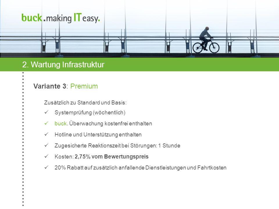 2. Wartung Infrastruktur
