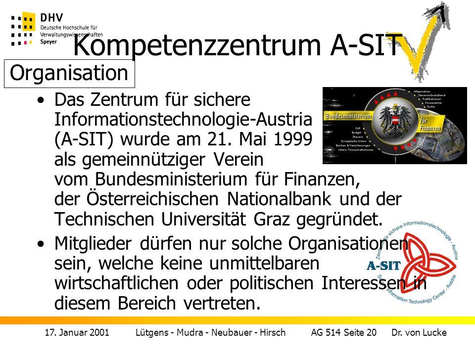 Kompetenzzentrum A-SIT