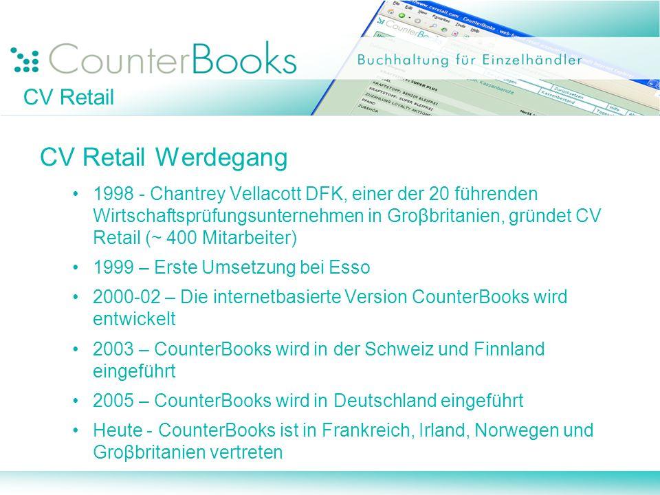 CV Retail Werdegang CV Retail