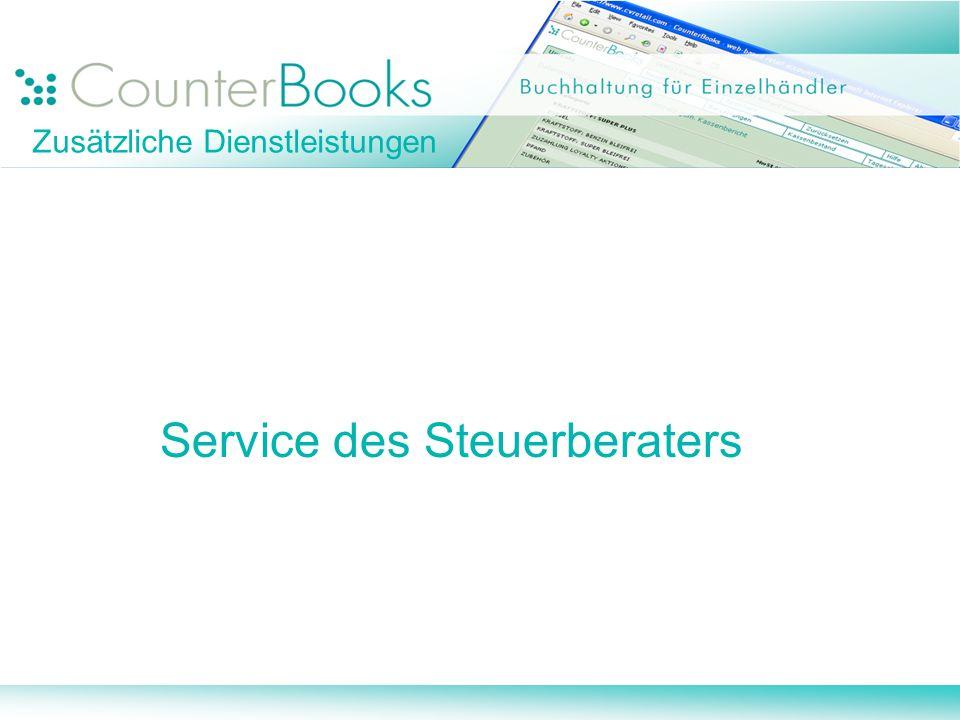Zusätzliche Dienstleistungen
