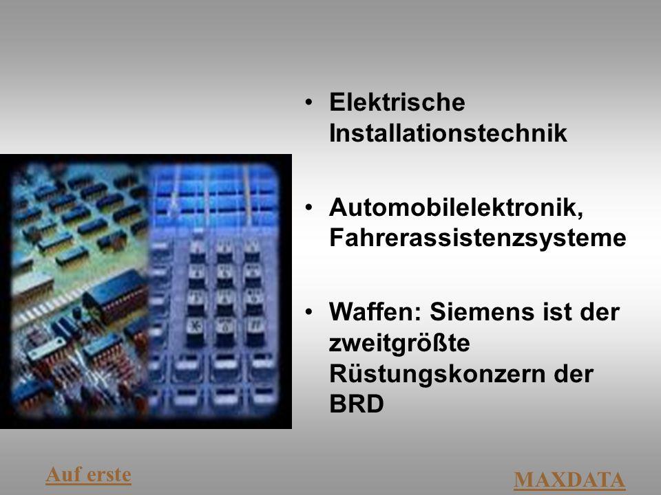 Elektrische Installationstechnik