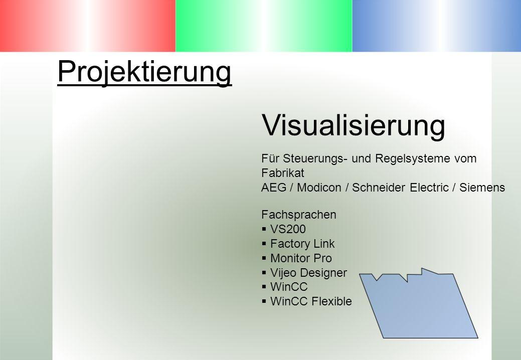 Projektierung Visualisierung