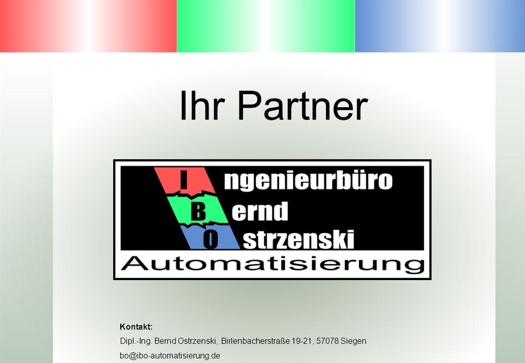 Ihr Partner Kontakt: Dipl.-Ing. Bernd Ostrzenski, Birlenbacherstraße 19-21, 57078 Siegen.