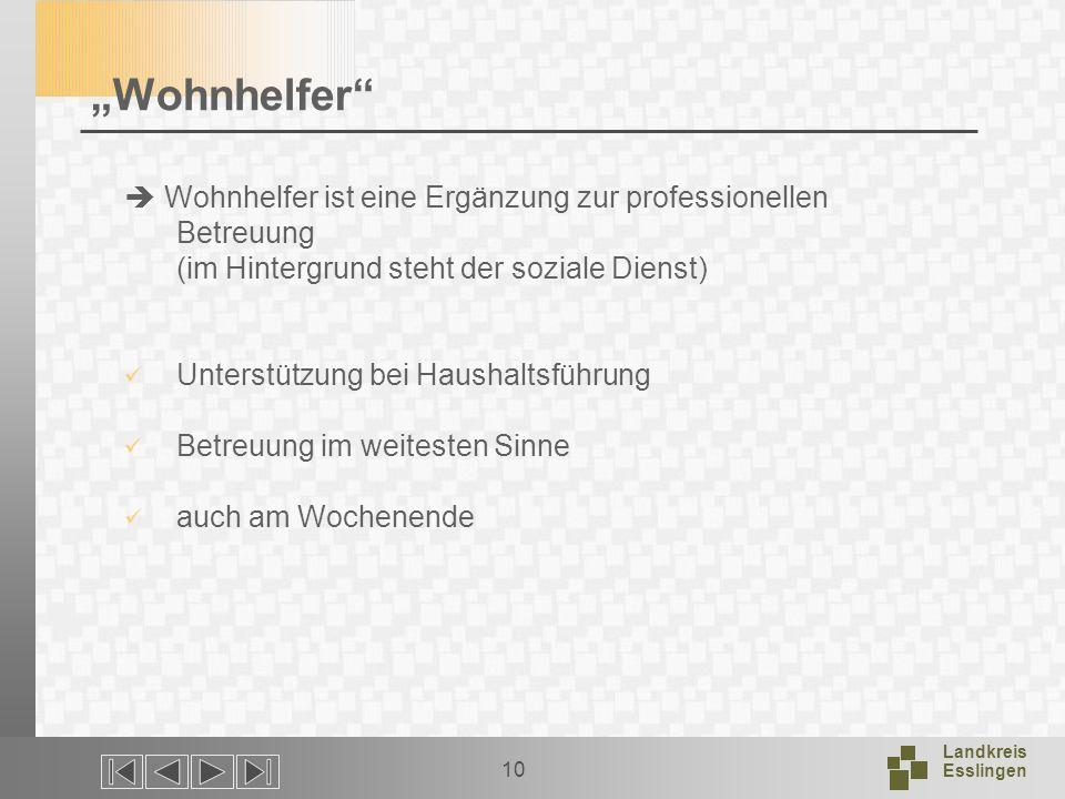 """""""Wohnhelfer  Wohnhelfer ist eine Ergänzung zur professionellen Betreuung (im Hintergrund steht der soziale Dienst)"""