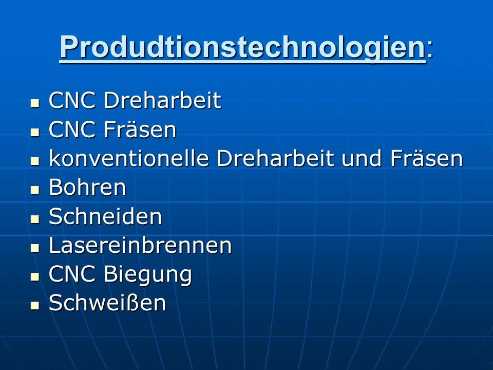 Produdtionstechnologien: