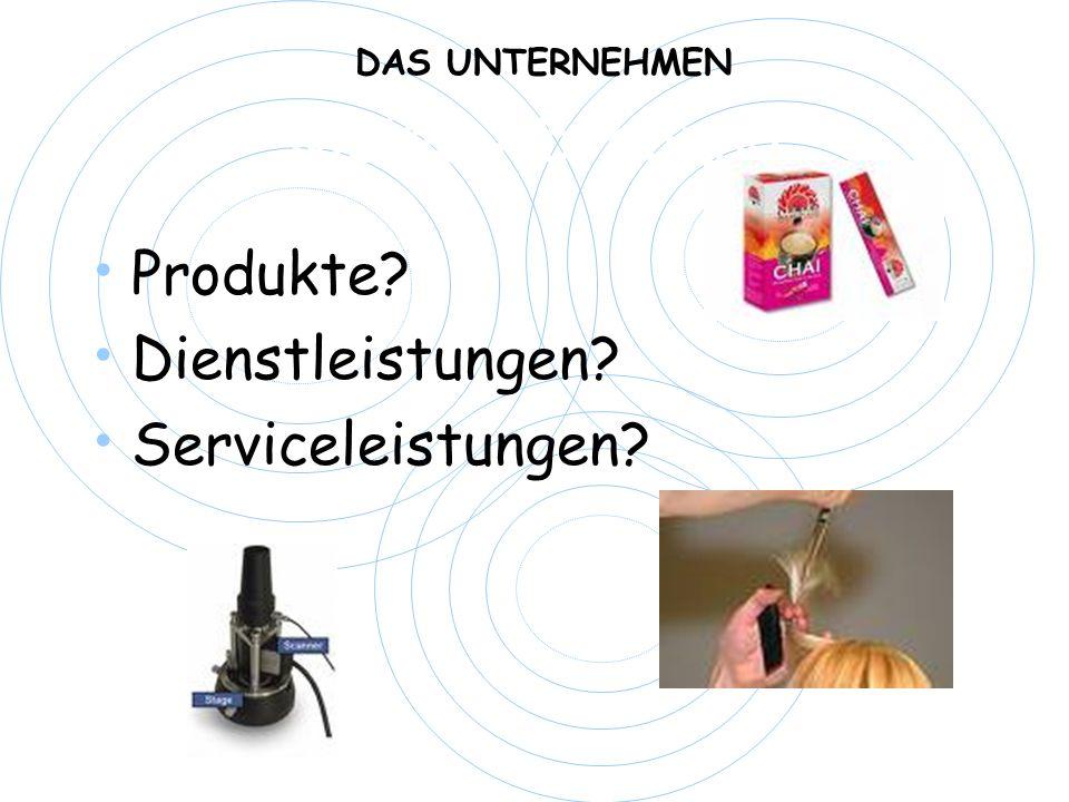 Meine Abteilung Produkte Dienstleistungen Serviceleistungen