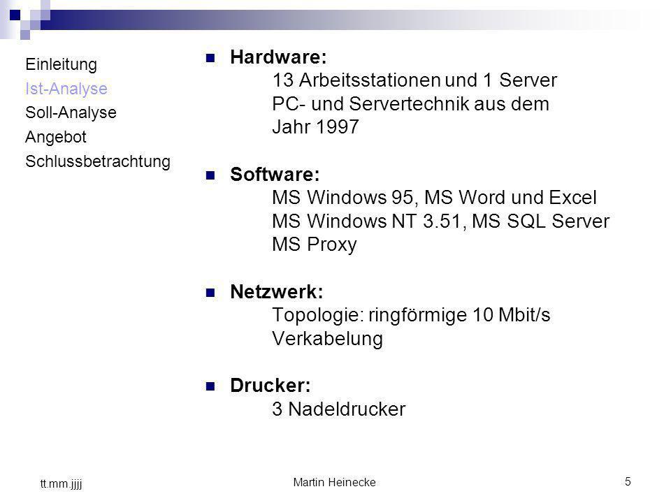 13 Arbeitsstationen und 1 Server PC- und Servertechnik aus dem