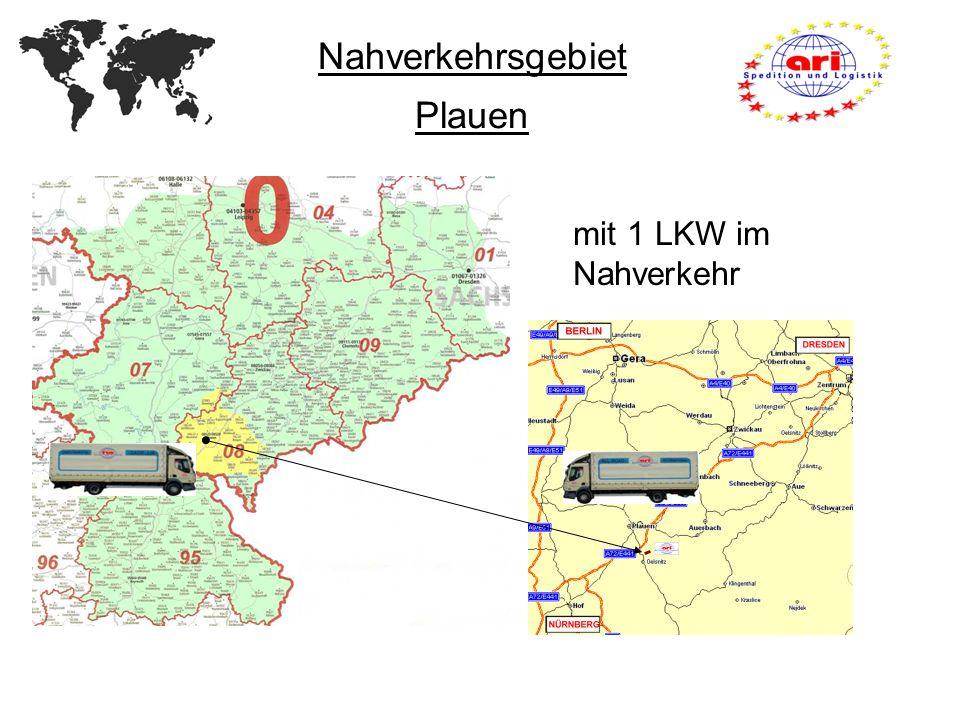 Nahverkehrsgebiet Plauen