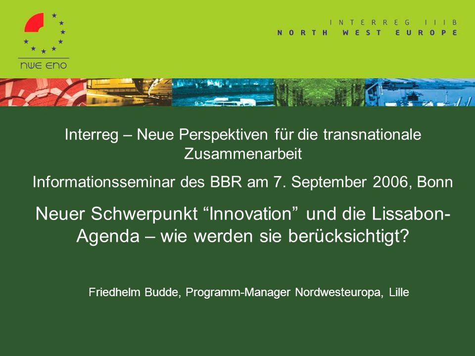 Interreg – Neue Perspektiven für die transnationale Zusammenarbeit