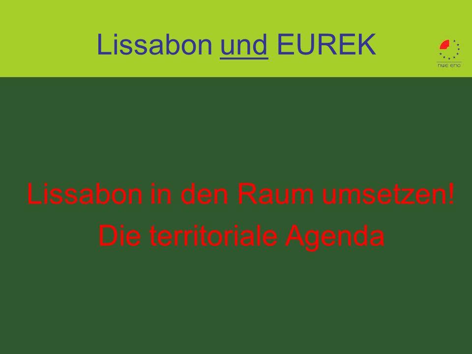 Lissabon in den Raum umsetzen! Die territoriale Agenda
