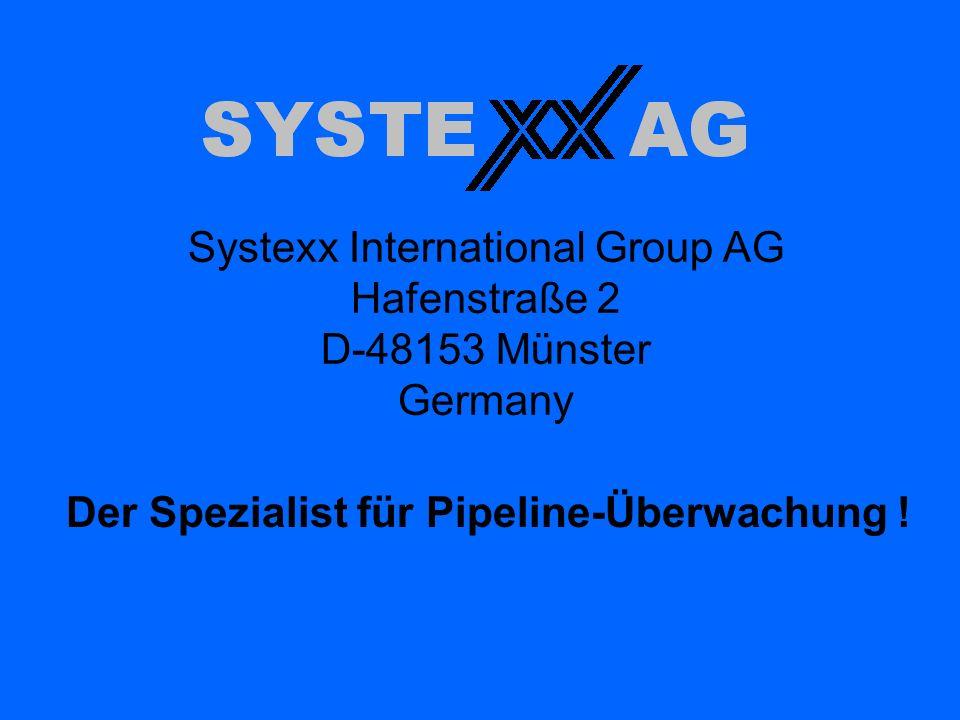 Der Spezialist für Pipeline-Überwachung !