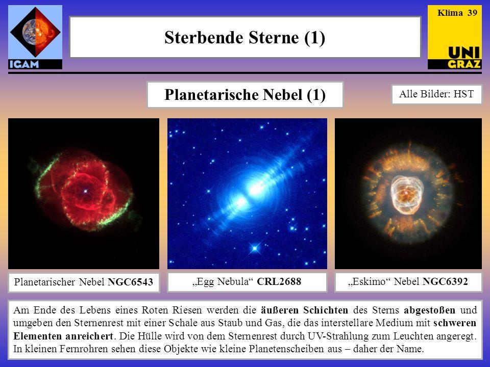 Planetarische Nebel (1)