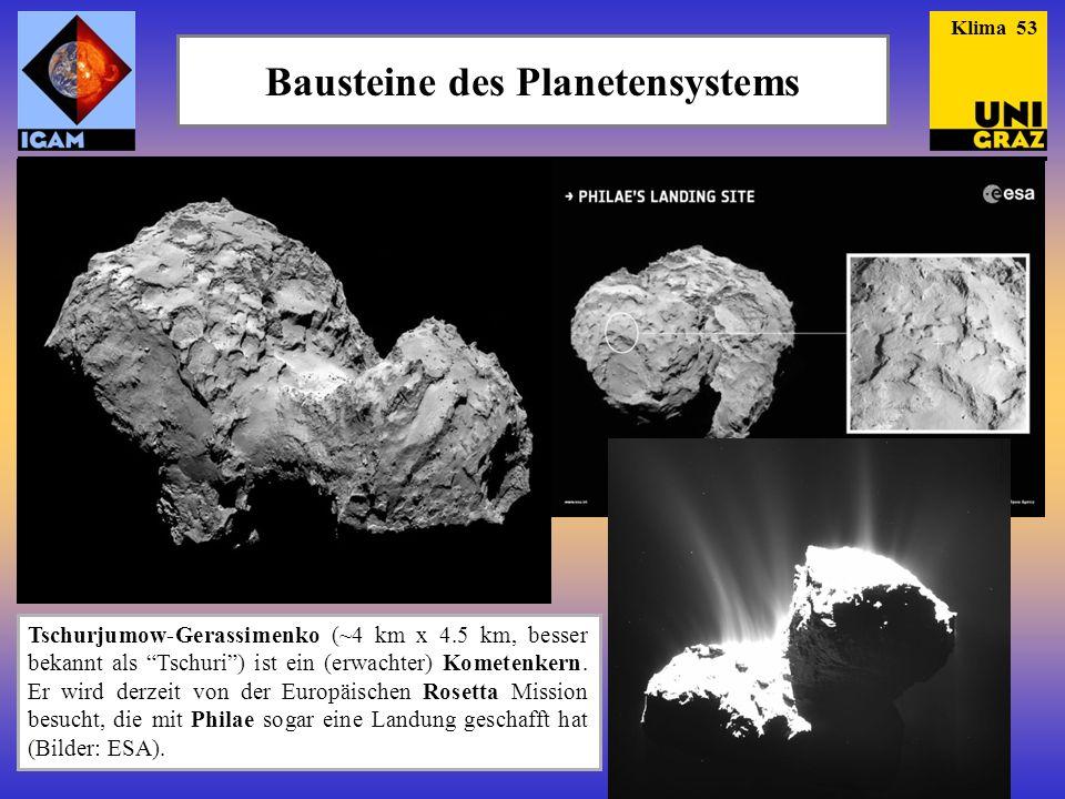Bausteine des Planetensystems