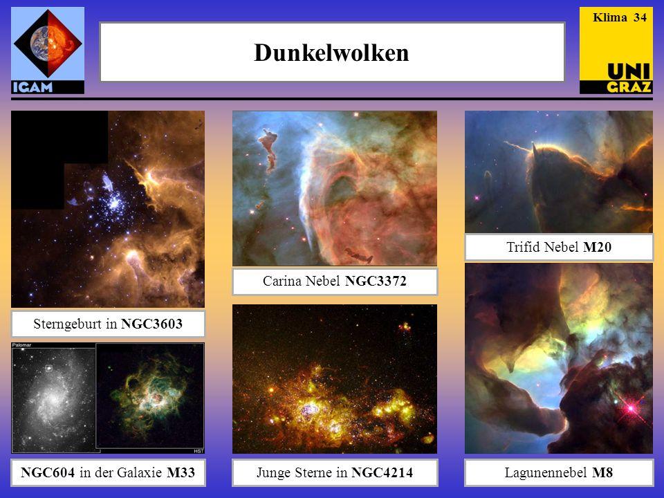 Dunkelwolken Trifid Nebel M20 Carina Nebel NGC3372