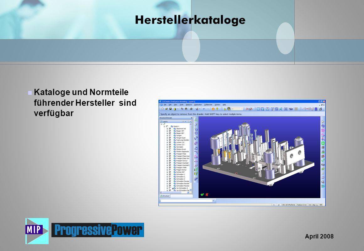 Herstellerkataloge Kataloge und Normteile führender Hersteller sind verfügbar