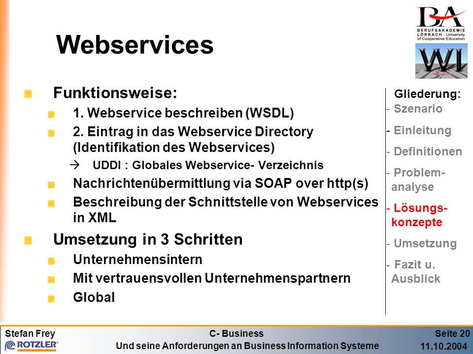 Webservices Funktionsweise: Umsetzung in 3 Schritten
