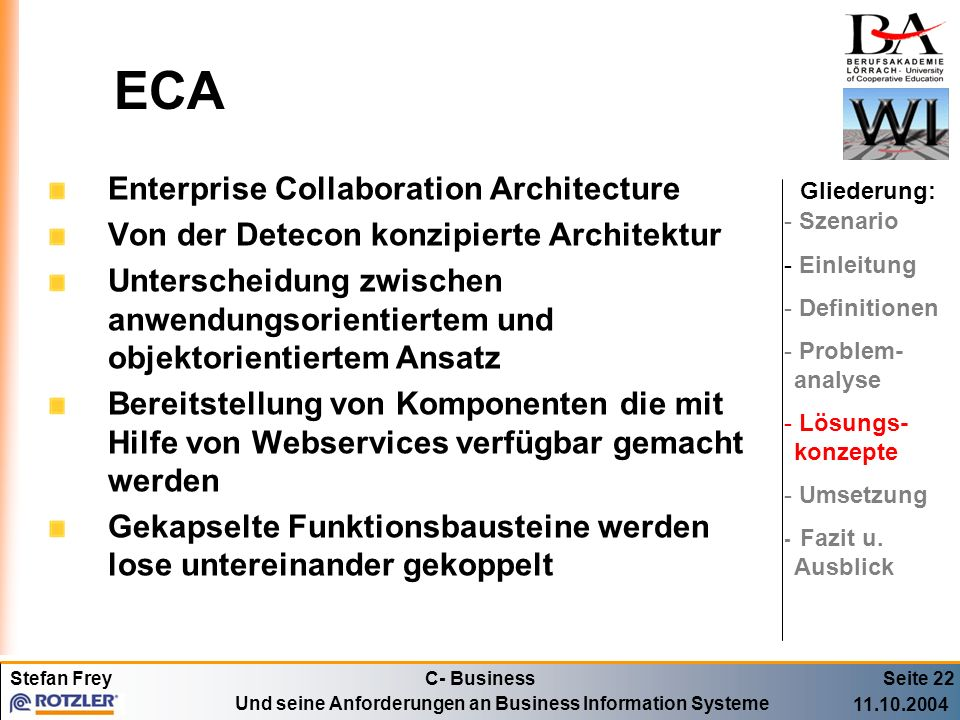 ECA Enterprise Collaboration Architecture