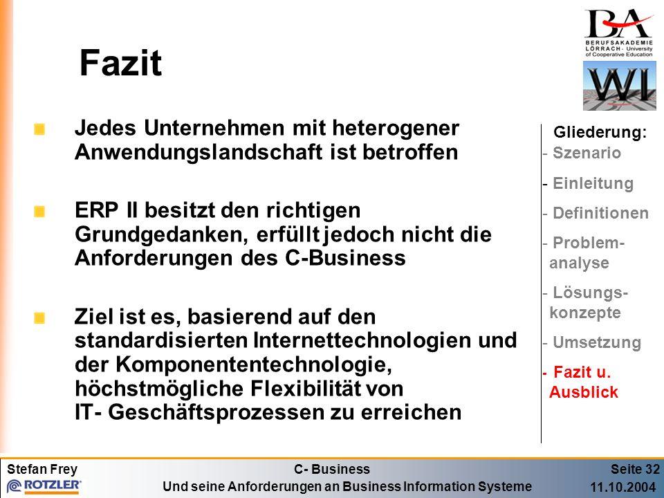 FazitJedes Unternehmen mit heterogener Anwendungslandschaft ist betroffen.
