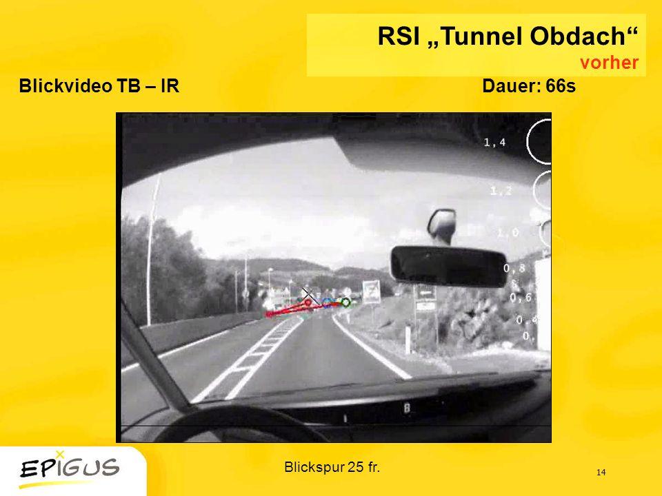 """RSI """"Tunnel Obdach vorher"""