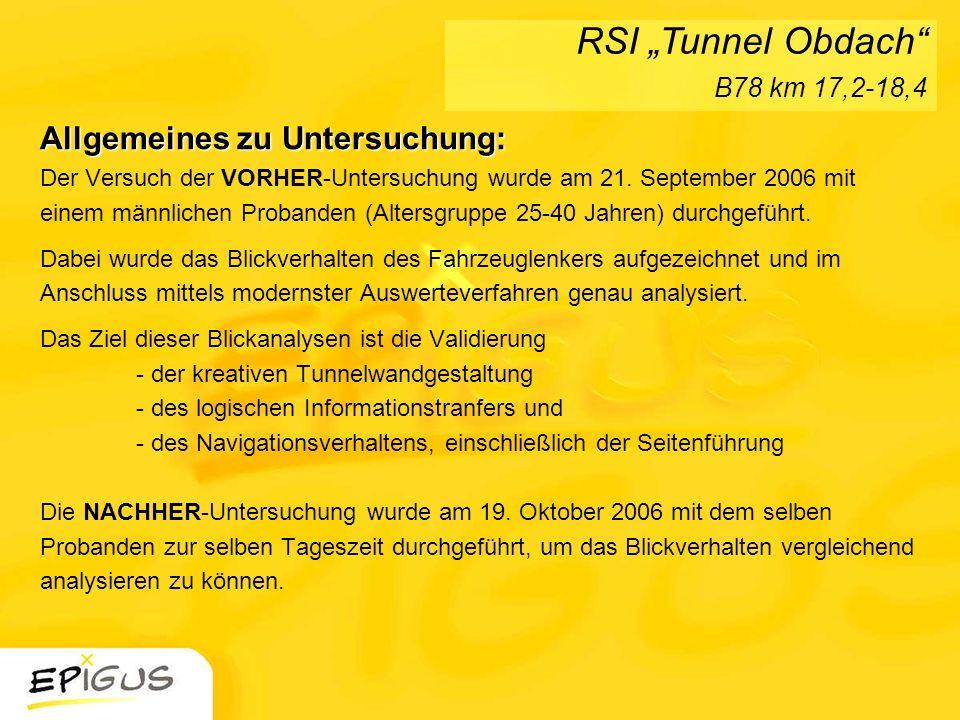 """RSI """"Tunnel Obdach B78 km 17,2-18,4"""