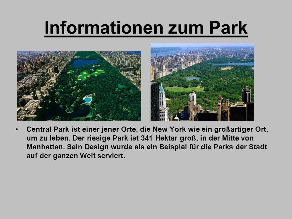 Informationen zum Park