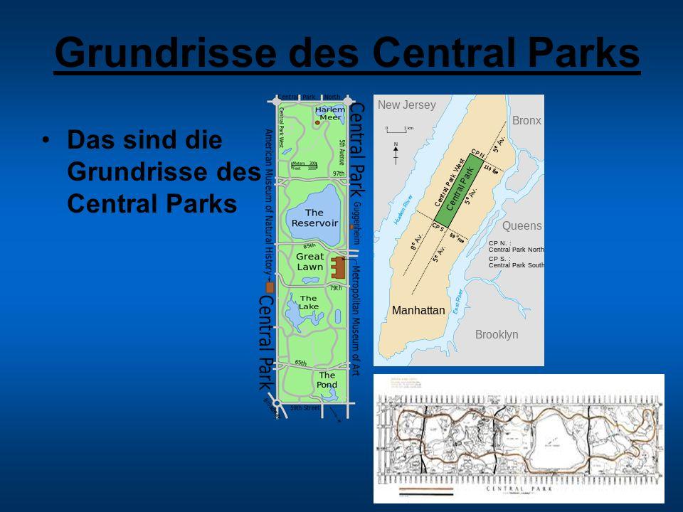 Grundrisse des Central Parks