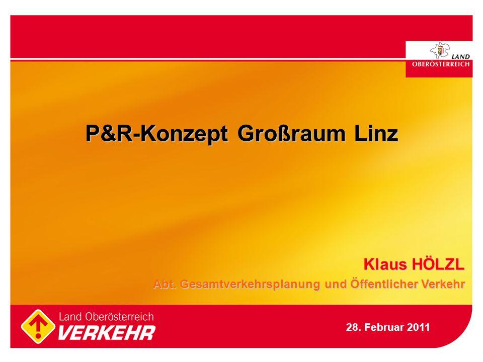 P&R-Konzept Großraum Linz