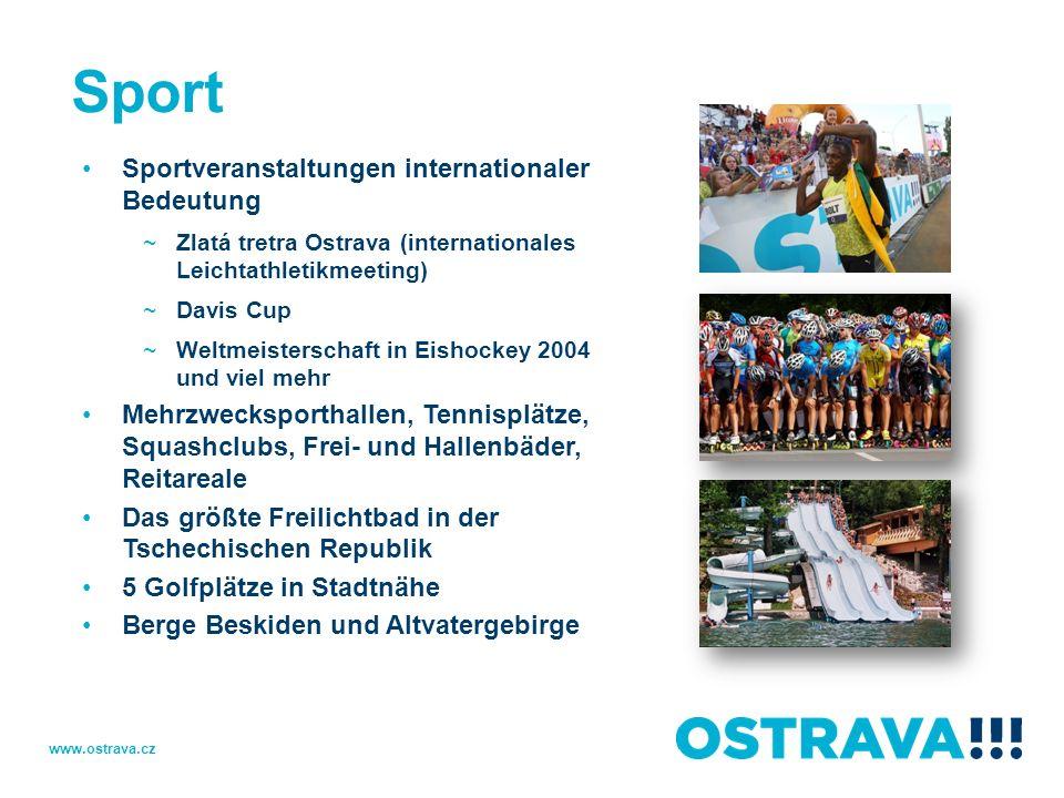 Sport Sportveranstaltungen internationaler Bedeutung