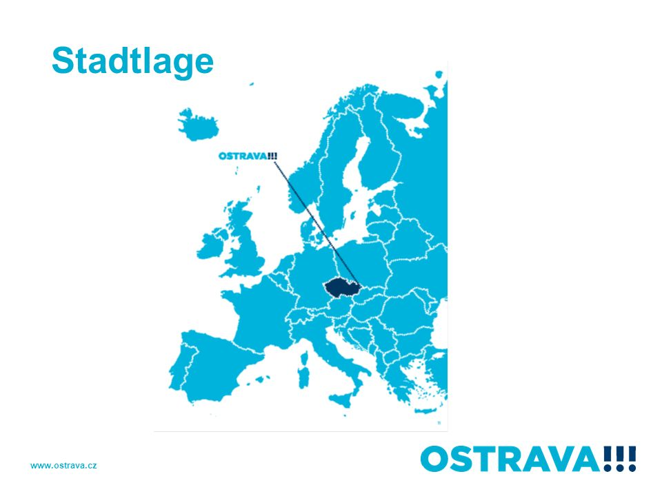 Stadtlage www.ostrava.cz