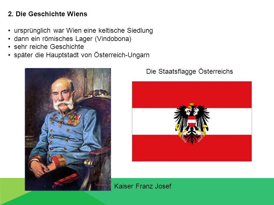 ursprünglich war Wien eine keltische Siedlung