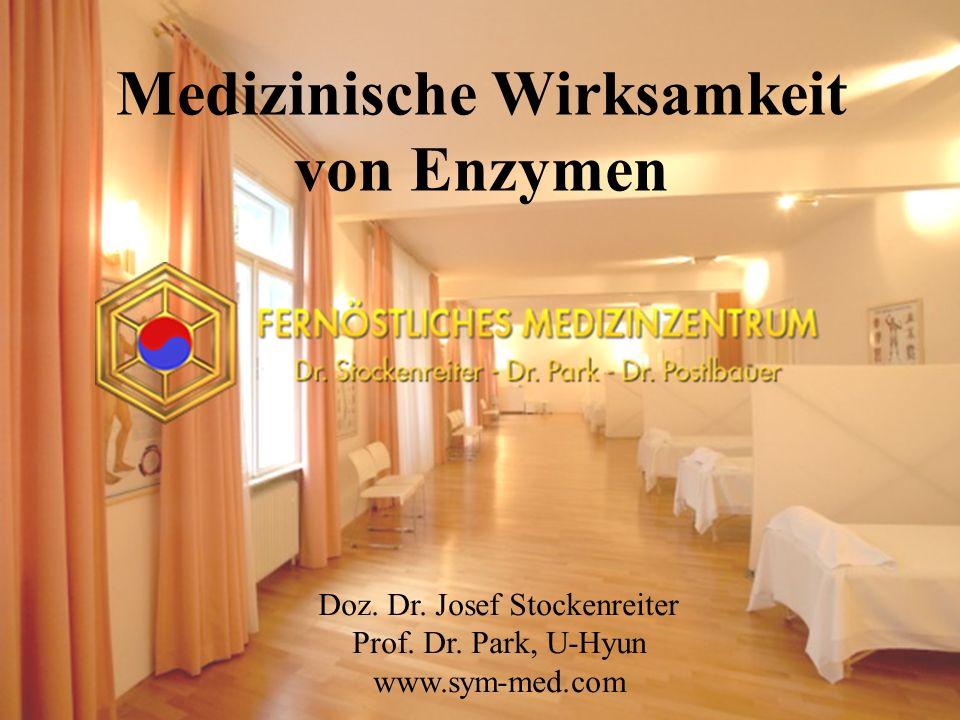 Medizinische Wirksamkeit von Enzymen