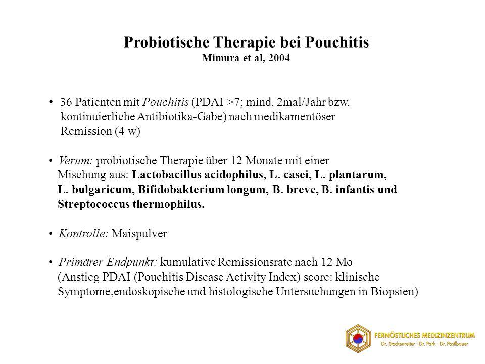 Probiotische Therapie bei Pouchitis