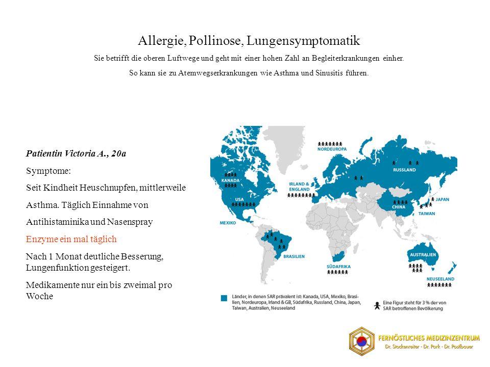 Allergie, Pollinose, Lungensymptomatik