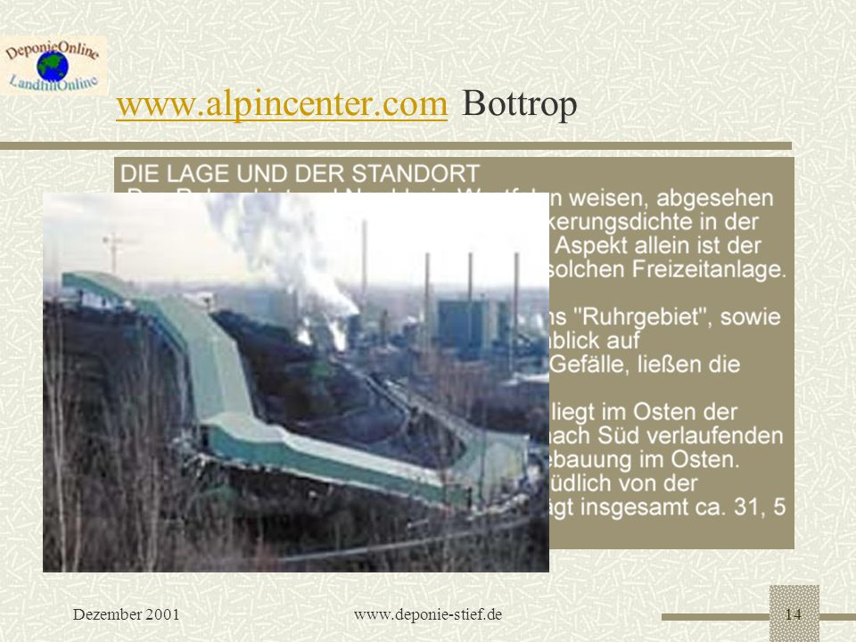 www.alpincenter.com Bottrop