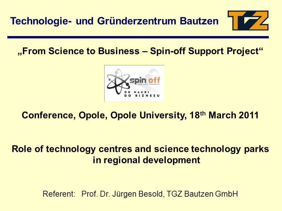 Technologie- und Gründerzentrum Bautzen