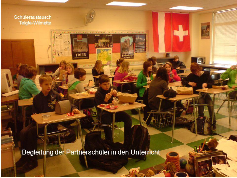 Schüleraustausch Telgte-Wilmette