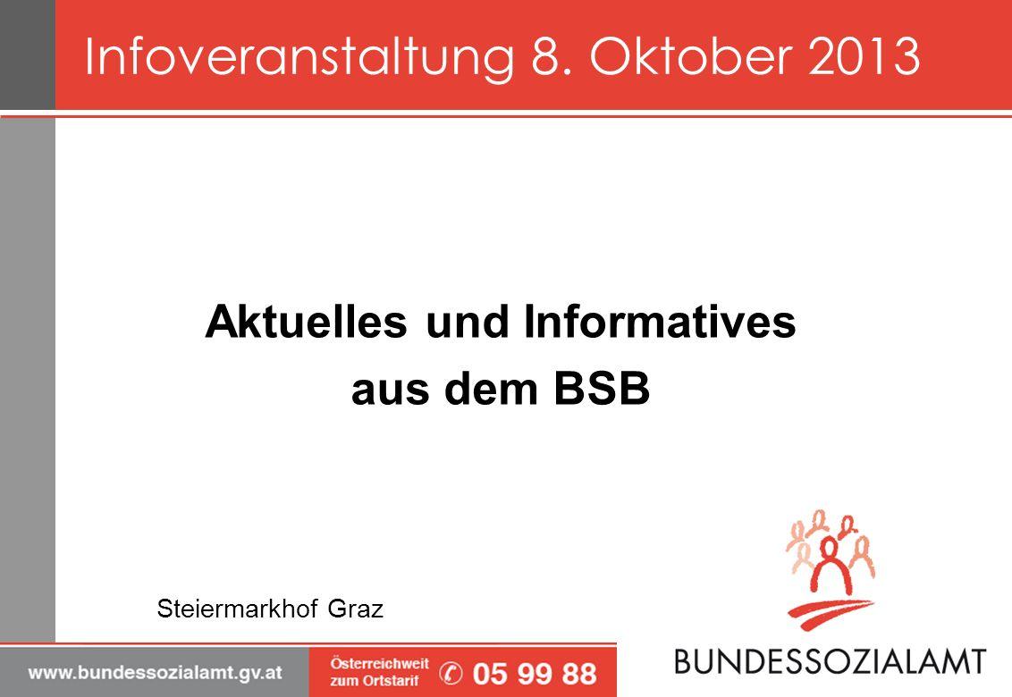 Aktuelles und Informatives aus dem BSB Steiermarkhof Graz