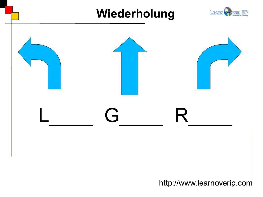 Wiederholung L____ G____ R____ http://www.learnoverip.com
