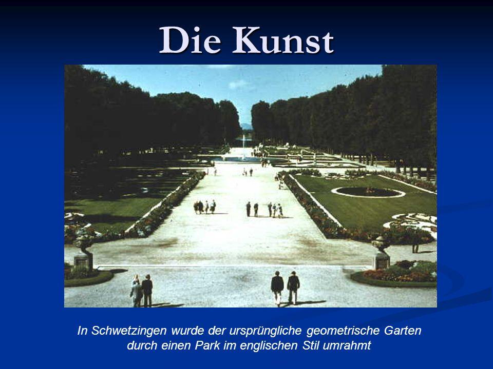 Die Kunst In Schwetzingen wurde der ursprüngliche geometrische Garten