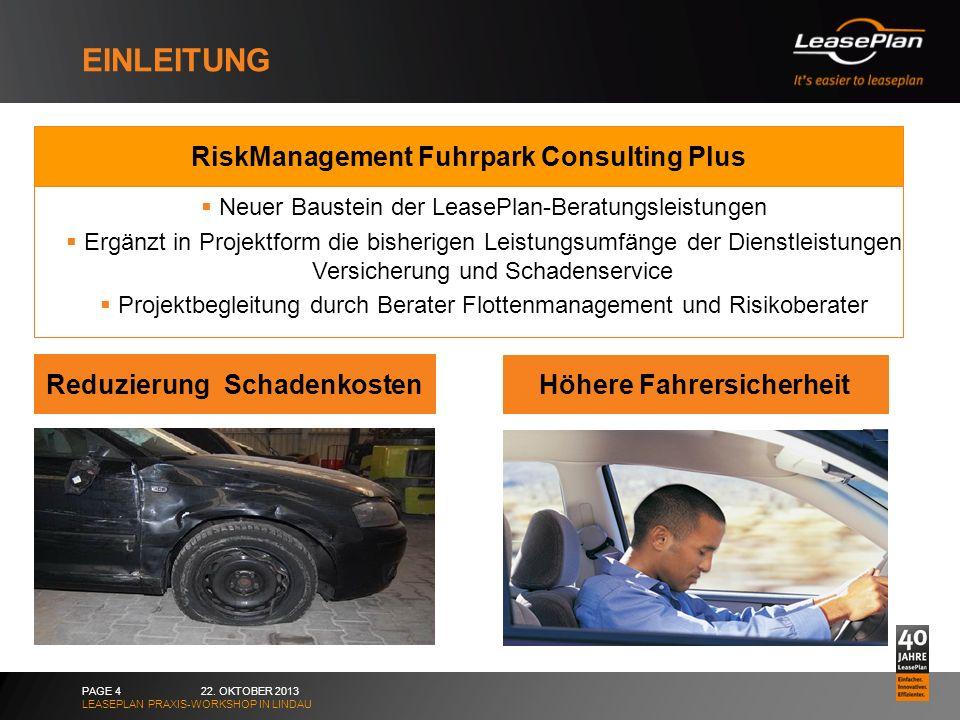 Reduzierung Schadenkosten Höhere Fahrersicherheit