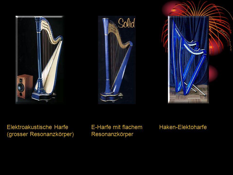 Elektroakustische Harfe