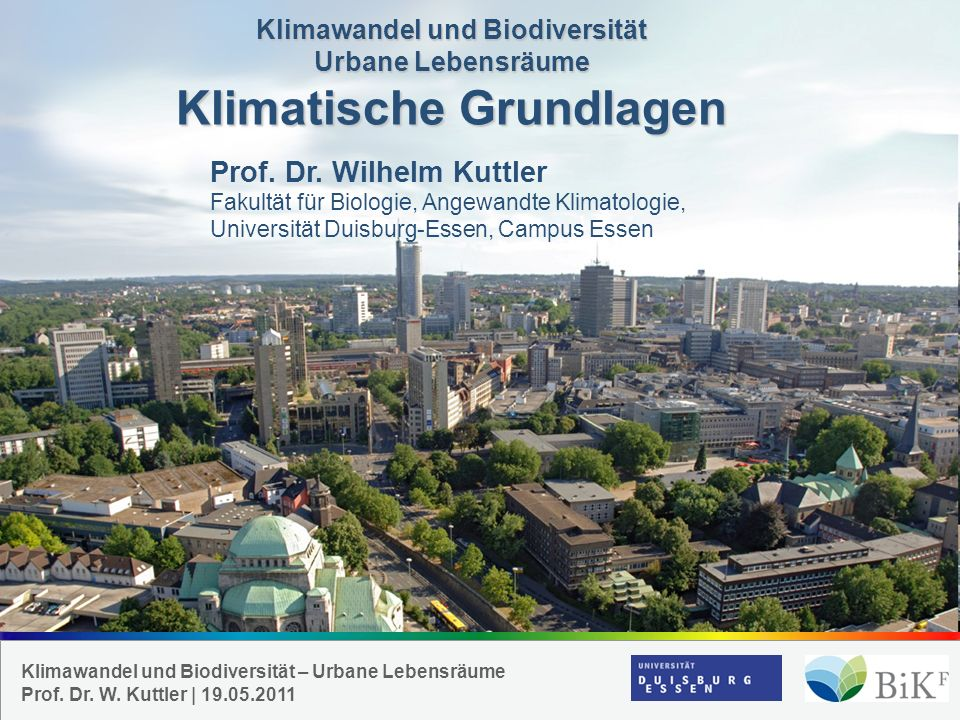 Prof. Dr. Wilhelm Kuttler