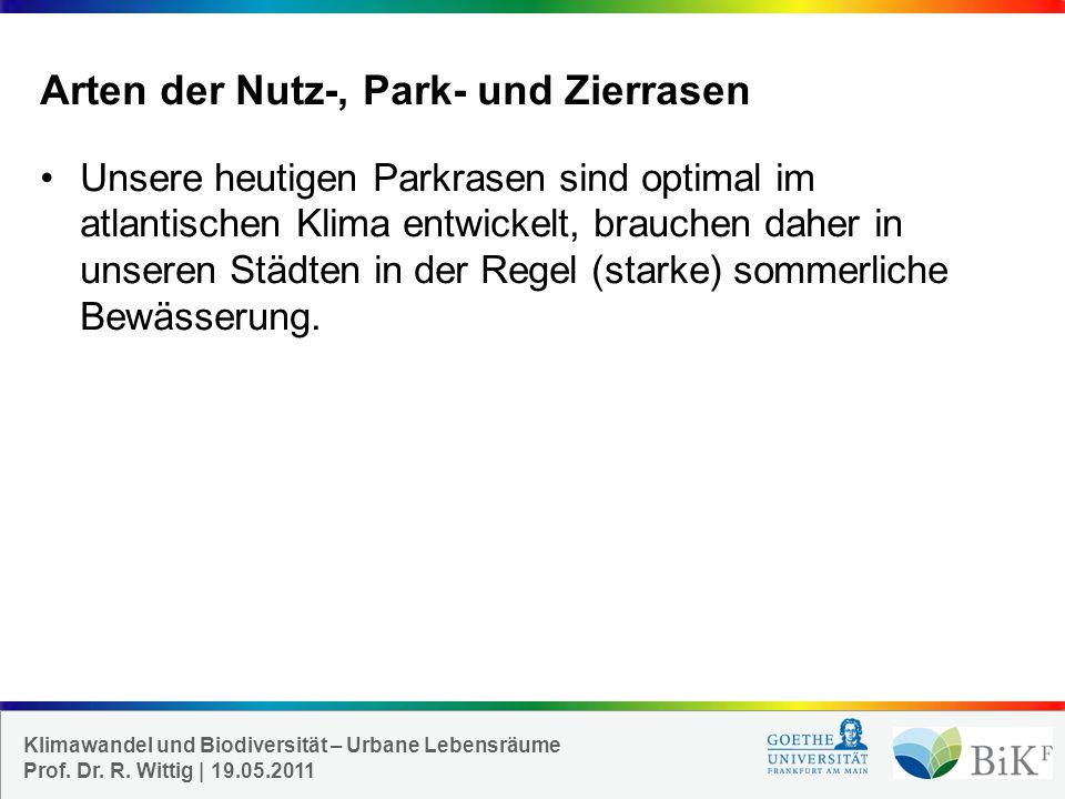 Arten der Nutz-, Park- und Zierrasen