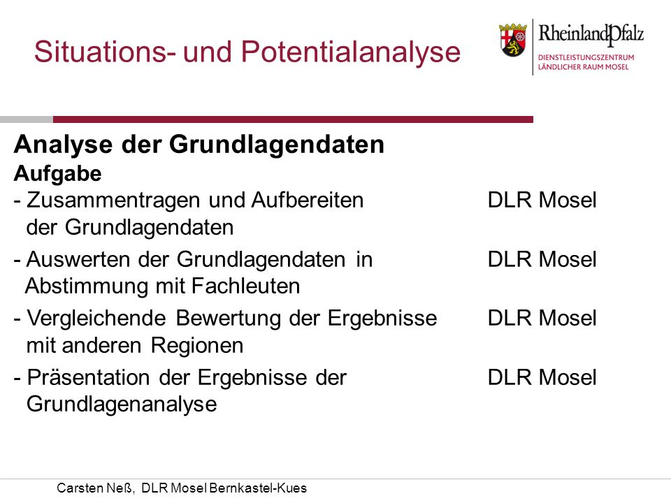 Situations- und Potentialanalyse
